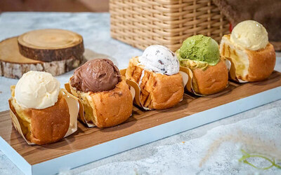 Buy 2 Ice Cream Bun Get 1 Free Ice Cream Bun