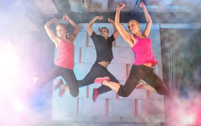 2-Week Pass to 1-Hour PowerPush and Toned Up / Zumbas Classes for 1 Person