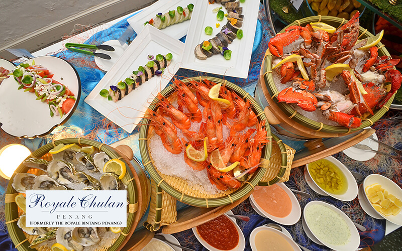 Saturday Seafood Dinner Buffet for 2 People