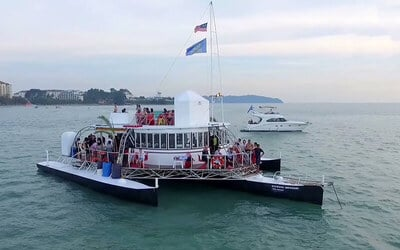 Port Dickson: 3-Hour Sunset Cruise for 1 Adult
