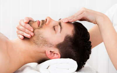 Men's Herbal Facial Treatment + Indian Head Massage with Hair Tonic for 1 Person