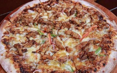 1-For-1 Smoked Salmon / Beef Pizza