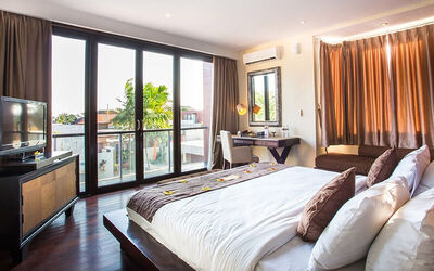Seminyak: 3D2N in One Bedroom Deluxe Room Villa + 1x Afternoon Tea + 1x Lunch/Dinner