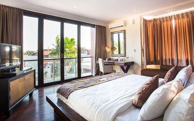 Seminyak: 3D2N in One Bedroom Deluxe Room Villa + 1x Afternoon Tea + 1x Lunch/Dinner