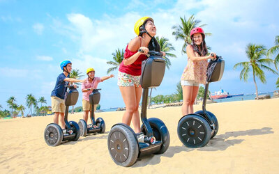 Singapore: Child - Cable Car 2 Way + Megabounce & Crazybounce + Segway