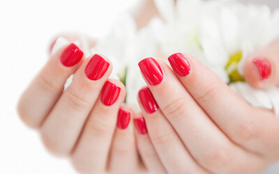 Gel Manicure / Express Gel Pedicure for 1 Person
