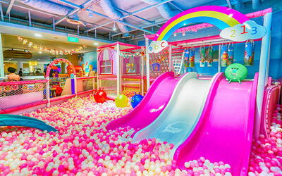 (Mon-Fri) 1-Day Admission with Unlimited Play Time for 1 Child
