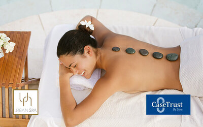 1-Hour Therapeutic Hot Stone Massage for 2 People